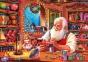 1000 эл. Чемоданчик - Christmas Collection. Мастерская Святого Николая / Clementoni 0
