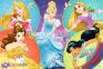 100 ел. - Зустрічайте милих Принцес / Disney Princess / Trefl 0