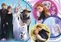 100 ел. Glitter - Крижане серце-2. У сяйві кохання / Disney Frozen 2 / Trefl 0