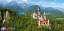 4000 ел. - Замок Нойшванштайн, Німеччина / Castorland 0