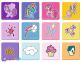 2 в 1 (30,48) эл.+ Мемос – Мои маленькие Пони. Дружба - это магия / Hasbro, My Little Pony / Trefl 0