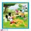 3 в 1 (20,36,50) ел. - Мишка Міккі з друзями / Disney Standard Characters / Trefl 3