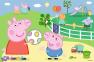 60 эл. - Свинка Пеппа. Забава с друзьями / Peppa Pig / Trefl 0