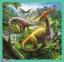 3 в 1 (20,36,50) ел. - Незвичний світ динозаврів / Trefl 0