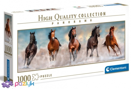 1000 ел. Panorama High Quality Collection - Коні / Clementoni