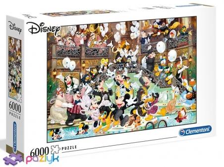 6000 эл. - Мышка Микки: 90 лет магии / Disney / Clementoni