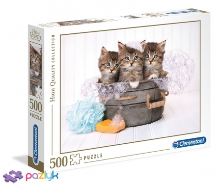 500 ел. High Quality Collection - Котики і мило / Clementoni