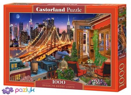 1000 ел. - Вогні Бруклінського мосту / Castorland