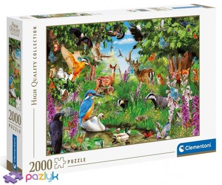 2000 эл. High Quality Collection - Фантастический лес / Clementoni