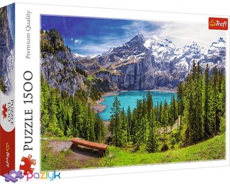 1500 ел. - Озеро Ешинен, Альпи, Швейцарія / Trefl