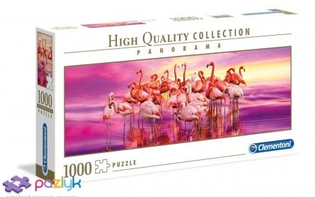 1000 эл. Panorama High Quality Collection - Танец фламинго / Clementoni