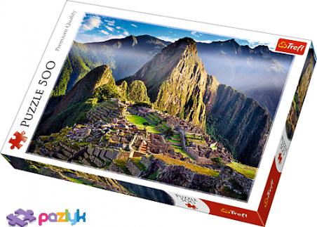 500 ел. - Гірський масив над старовинним святилищем Мачу-Пікчу, Перу / Trefl