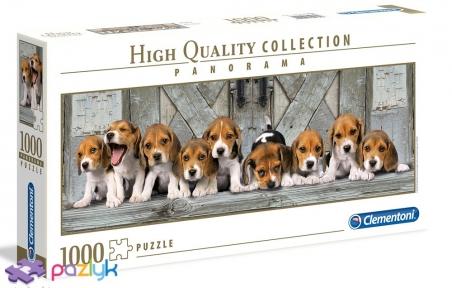 1000 эл. Panorama High Quality Collection - Маленькие Бигли / Lo Coco Licensing / Clementoni
