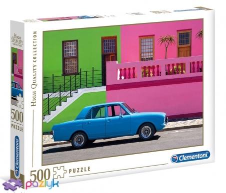 500 ел. High Quality Collection - Блакитний автомобіль / Clementoni