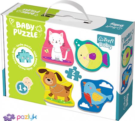 Baby CLASSIC - Домашние животные /Trefl