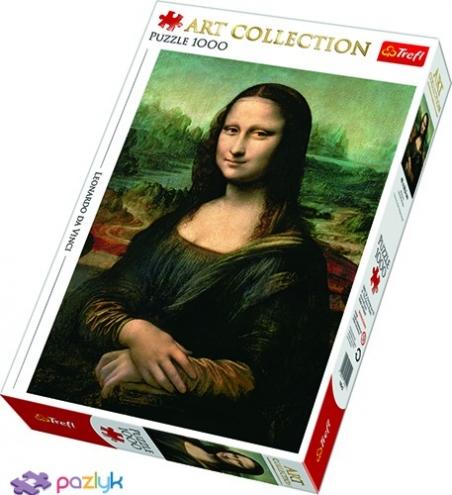1000 ел. Art Collection - Леонардо да Вінчі.Мона Ліза / Bridgeman / Trefl