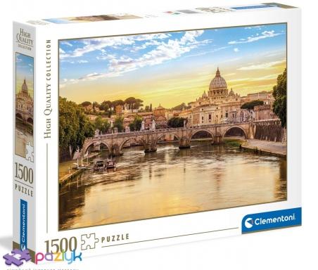 1500 эл. High Quality Collection - Вид на Базилику Святого Петра, Рим / Clementoni
