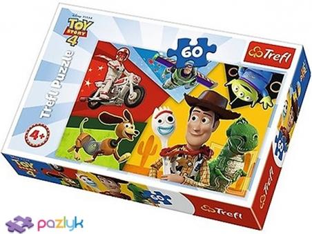 60 ел. - Історія іграшок. Створені для забави / Toy Story / Trefl
