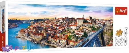 500 эл. Panorama - Порту, Португалия / Trefl