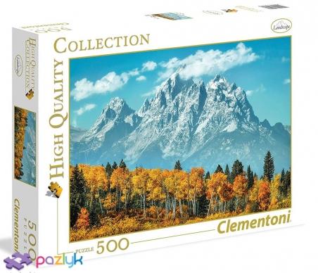 500 ел. High Quality Collection - Осінь у Національному парку Гранд-Тетон, США / Clementoni