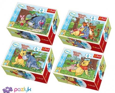 54 ел. Міні - Вінні Пух. Літо у лісі / Disney Winnie the Pooh / Trefl