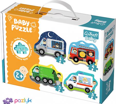 Baby CLASSIC - Транспорт та професії /Trefl