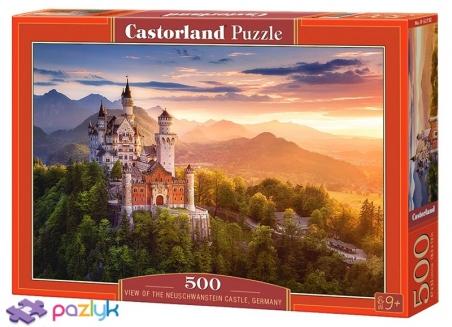 500 эл. - Замок Нойшванштайн на рассвете, Германия / Castorland