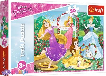30 эл. - Быть Принцессой / Disney Princess / Trefl