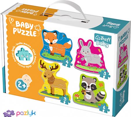 Baby CLASSIC - Лесные животные /Trefl