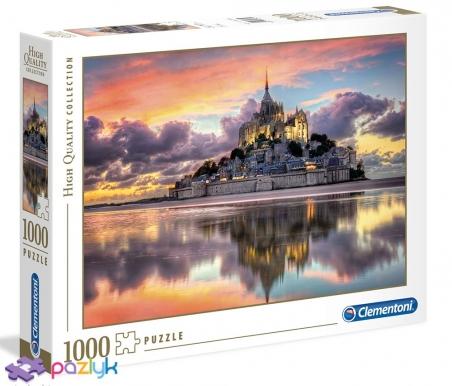 1000 ел. High Quality Collection - Магічний Мон-Сен-Мішель, Нормандія, Франція / Clementoni