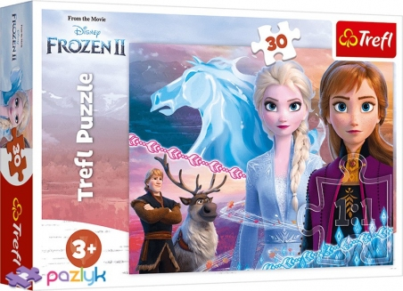 30 ел. - Крижане серце-2. Відважні сестри / Disney Frozen 2 / Trefl