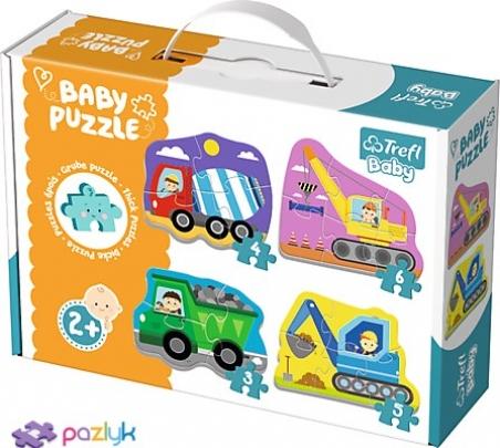 Baby CLASSIC- Будівельні машини / Trefl Baby / Trefl