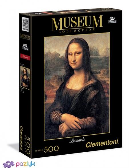 500 ел. Музейна Колекція - Леонардо да Вінчі. Мона Ліза / Clementoni
