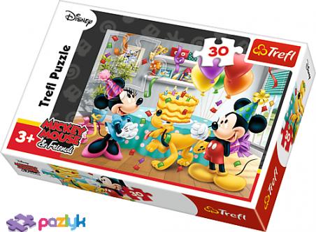30 ел. – Міккі - маус та друзі. Торт на день народження / Disney Standard Characters / Trefl