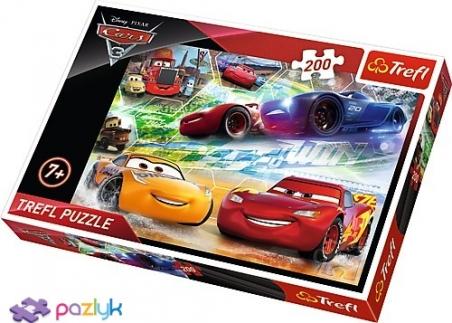 200 ел. - Тачки-3. Шлях до перемоги / Disney Cars 3 / Trefl