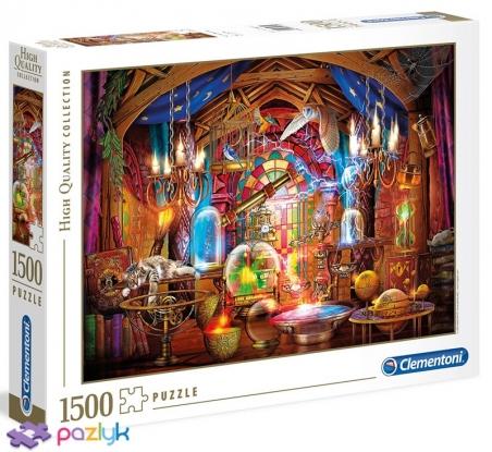 1500 ел. High Quality Collection - Чіро Маркетті. Кімната чаклуна / MGL / Clementoni