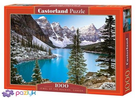 1000 эл. - Украшение скалистых гор, Канада / Castorland