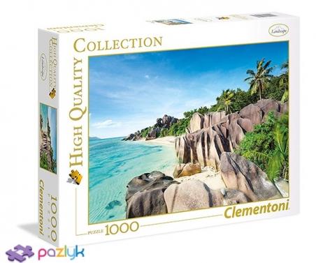 1000 ел. High Quality Collection - Райський пляж / Clementoni