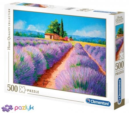 500 ел. High Quality Collection - Жан-Марк Жаньячик. Запах лаванди / MGL / Clementoni