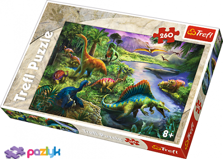 260 эл. - Динозавры / Trefl