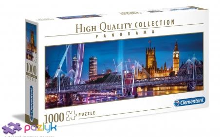 1000 ел. Panorama High Quality Collection - Вечірній Лондон / Clementoni
