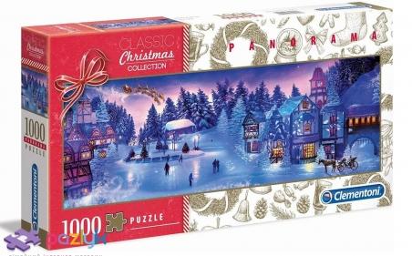 1000 эл. Panorama - Christmas Collection. Рождественский сон / Clementoni