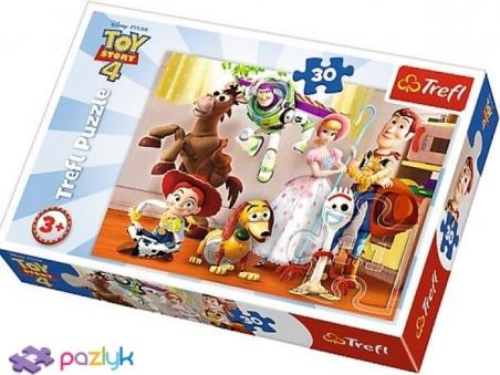 30 ел. - Історія іграшок-4. Готові до забави / Disney Toy Story-4 / Trefl