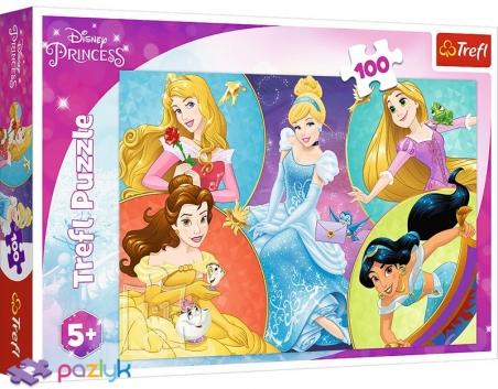 100 ел. - Зустрічайте милих Принцес / Disney Princess / Trefl