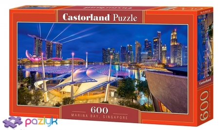 600 ел. - Маріна-Бей, Сінгапур / Castorland