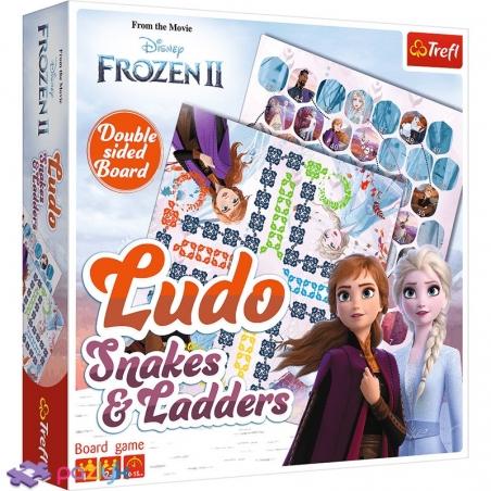 01756 Ігровий комплект 2 в 1 Лудо / Змії та драбини -