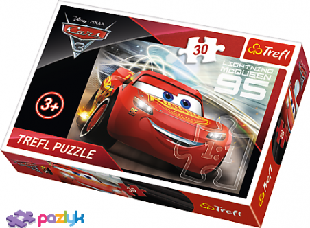 30 эл. –  Тачки 3. Молния МакКвин / Disney Cars 3 / Trefl
