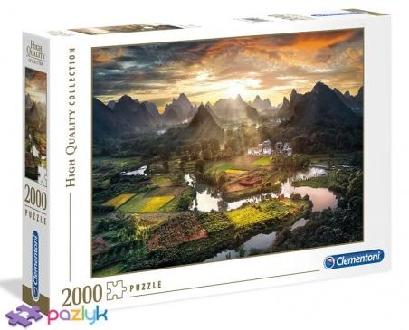 2000 эл. High Quality Collection - Китайский пейзаж / Clementoni