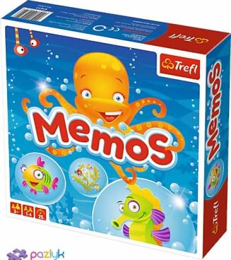 01611 Ілюстрована гра Мемос -
