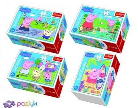 54 ел. Міні - Веселий день Свинки Пеппи / Peppa Pig / Trefl